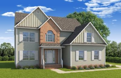 The Ashley Custom Home in King and Queen County VA