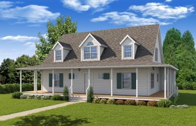 The Harlow Custom Home in King and Queen County VA
