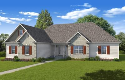 Elevation B. 3br New Home in Winchester, VA