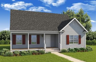 Elevation A. New Home in King George, VA