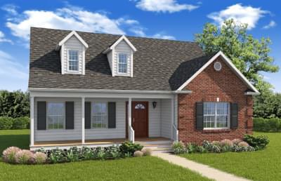 Elevation B. King George, VA New Home