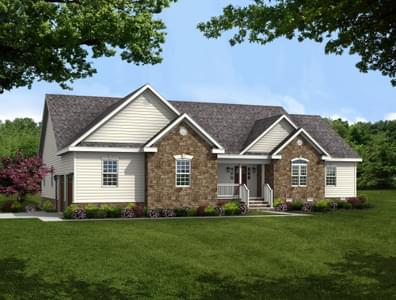 The Albemarle Custom Home in King and Queen County VA