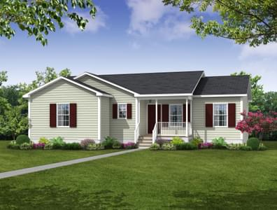 Elevation A. 3br New Home in Camden, NC
