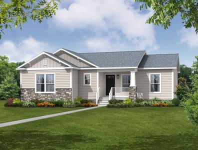 The Caroline Custom Home in King and Queen County VA