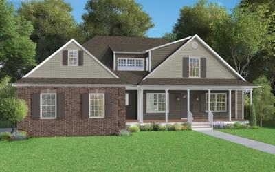 Elevation B. Deborah New Home in Winchester, VA