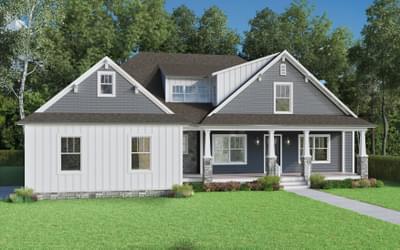 The Deborah Custom Home in King and Queen County VA