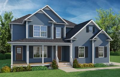 Elevation A. New Home in Winchester, VA