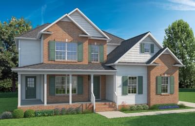 Elevation B. Fairfax New Home in Winchester, VA