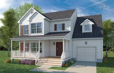 Elevation A. 2br New Home in Cumberland, VA