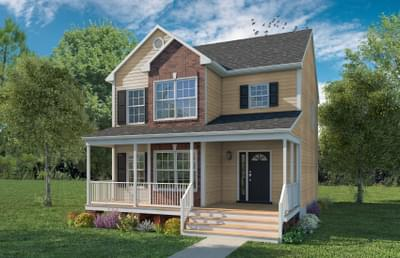 The Frederick Custom Home in King and Queen County VA