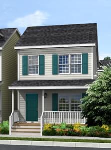 Elevation A. Kensington New Home in Cullen, VA