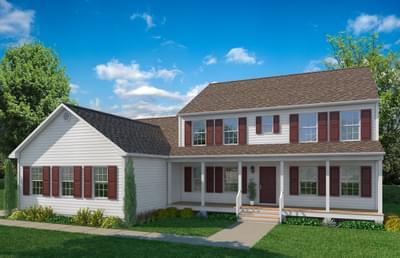 Elevation A. Laurel New Home in Gloucester, VA