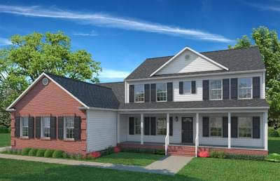 Elevation B. 4br New Home in Gloucester, VA