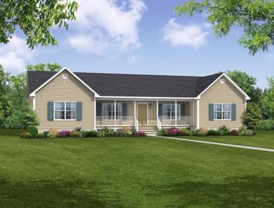 Elevation A. Cullen, VA New Home
