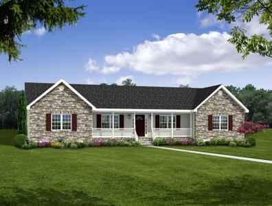 The Mathews I Custom Home in King and Queen County VA