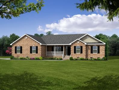 Elevation B. 4br New Home in Cullen, VA