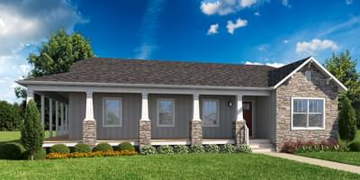 The Montclair Custom Home in King and Queen County VA