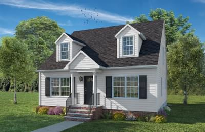 Elevation B. Patterson New Home in King George, VA