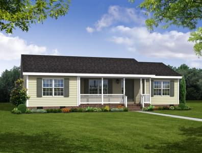 The Ridgeview Custom Home in King and Queen County VA