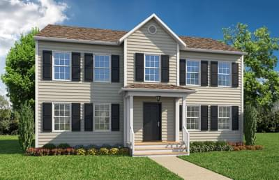 Elevation A. 2,037sf New Home in Camden, NC