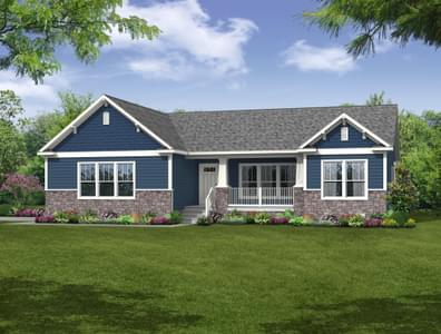 The Shenandoah Custom Home in King and Queen County VA