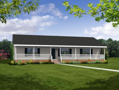 The Sycamore Custom Home in King and Queen County VA
