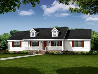 The Vincent Custom Home in King and Queen County VA