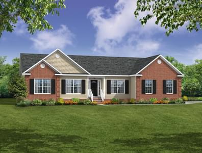 Elevation B. New Home in Cullen, VA