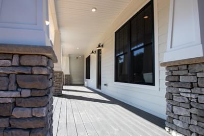 Deborah Elevation (C) Porch. Rocky Mount, NC Custom Home Design Center Deborah Elevation (C) Porch