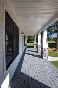 Deborah Elevation (C) Porch. Rocky Mount, NC Custom Home Builder Deborah Elevation (C) Porch