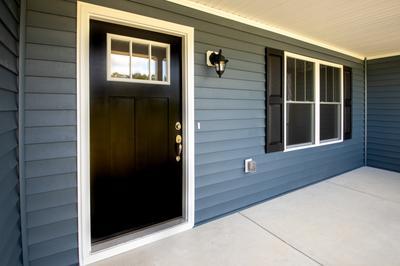 Porch. Richmond, VA Custom Home Design Center Porch