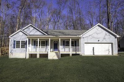 Winchester Elevation (A). Fredericksburg, VA Custom Home Design Center Winchester Elevation (A)