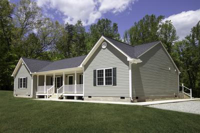 Mathews I Elevation (A). Build on Your Lot Richmond, VA Mathews I Elevation (A)