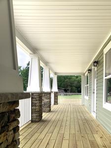 Deborah Elevation (C) Porch. Fredericksburg, VA Custom Home Design Center Deborah Elevation (C) Porch