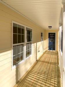 Harlow Elevation (A) Porch. Newport News, VA Custom Home Builder Harlow Elevation (A) Porch