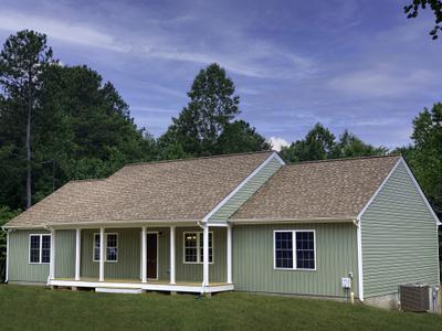 Vincent Elevation (F). Build on Your Lot Fredericksburg, VA Vincent Elevation (F)