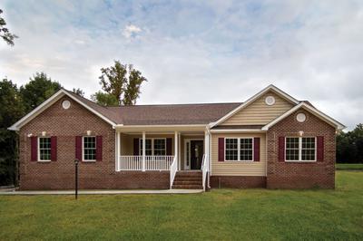 Winchester Elevation (B). Rocky Mount, NC Custom Home Design Center Winchester Elevation (B)
