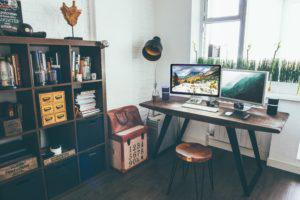 Ways to improve home office space