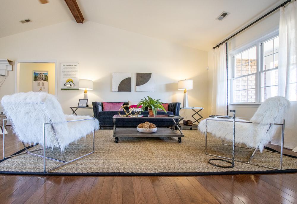Custom Home Living Areas Photos