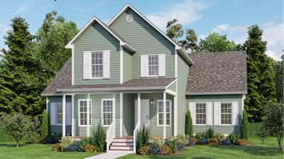 Elevation A. 3br New Home in Cullen, VA