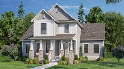 Elevation C. Cullen, VA New Home